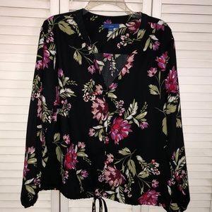 NEW Apt 9 Floral Blouse